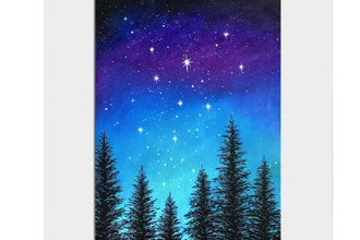 Paint Nite: Magical Midnight