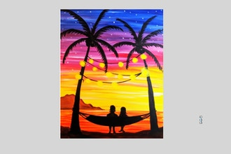 Paint Nite: Mermaid Tropical Vacation