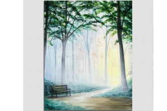 Paint Nite: Misty Woods Respite