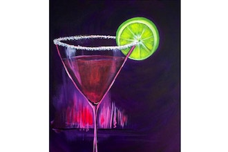 Paint Nite: Mommy Needs A Martini