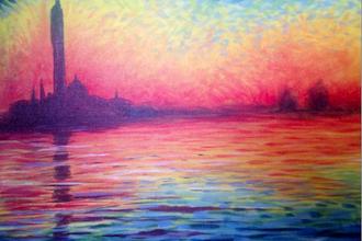 Monet Sunset