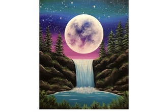 Paint Nite: Moonlight Falls