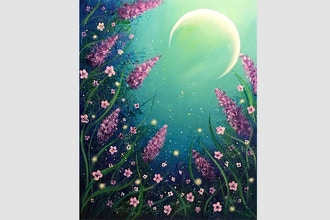 Paint Nite: Moonlight Magic Garden