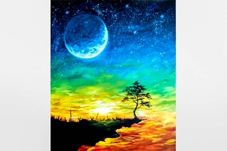 Paint Nite: Moonlit Sunset