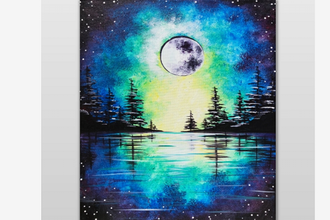 Moonrise Over The Pines (Ages 18+)
