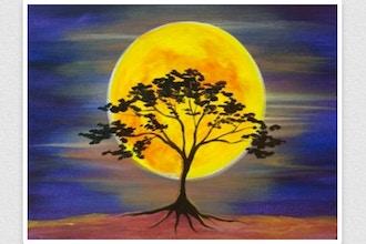 Paint Nite: Moonsong