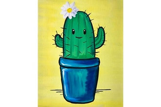 All Ages Paint Nite: My Cactus Friend