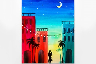Paint Nite: My Heart is in Havana