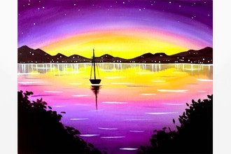 Virtual Paint Nite: Night Sail II (Ages 18+)