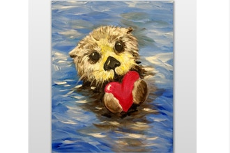 Virtual Paint Nite: No Otter Love Like Yours