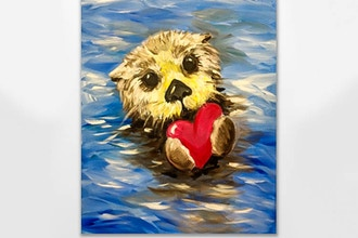 Paint Nite: No Otter Love Like Yours