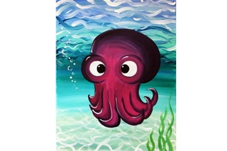 Paint Nite: Ollie the Octopus (Ages 6+)