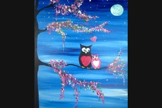 Virtual Paint Nite: Owl Always Love You (Ages 13+)