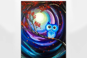 Paint Nite: Owl Night Long