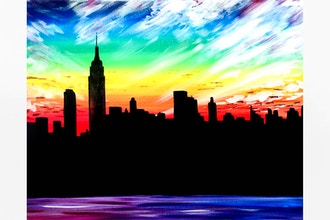 Paint Nite: A New York Sky