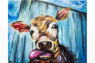 Paint Nite: Abstract Cow II