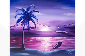 Paint Nite: Beach Garden Party