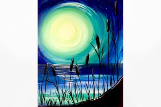 Paint Nite: Beach Moonlight