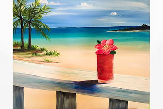Paint Nite: Beach Passion