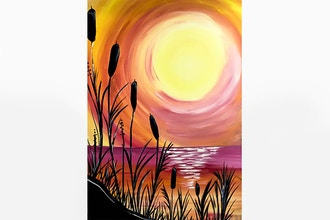 Paint Nite: Beach Sunset III