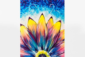 Paint Nite: Beautiful Flower
