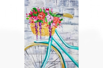 Paint Nite: Bicycle Blossoms