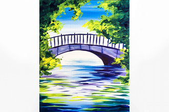 Paint Nite: Bridge in the Light