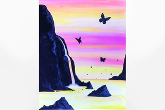 Paint Nite: Butterfly Cove