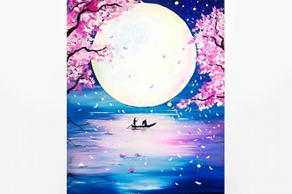 Paint Nite: Cherry Blossom Dreamboat
