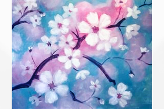 Paint Nite: Cherry Blossoms