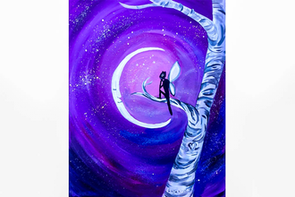 Paint Nite: Crescent Moonlit Magic