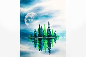 Paint Nite: Crisp Spring Lake