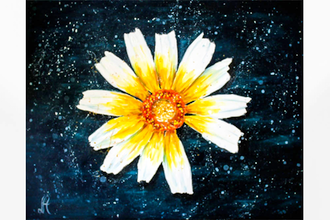 Paint Nite: Crown Daisy