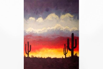 Paint Nite: Desert Sunset