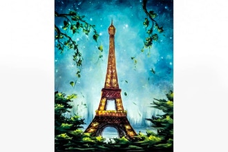 Paint Nite: Enchanted Paris II
