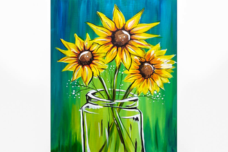 Paint Nite: Evening Sunflowers
