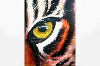 Paint Nite: Eye of the Tiger (Ages 18+)