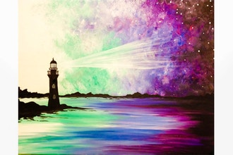 Paint Nite: Galaxy Lighthouse II