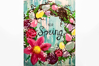 Paint Nite: Hello Spring