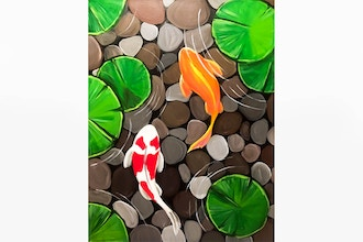 Paint Nite: Koi's will be Koi's