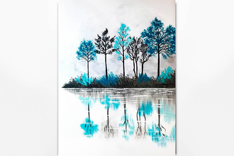 Paint Nite: Lake Of Reflection