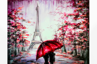 Paint Nite: Love In Paris III