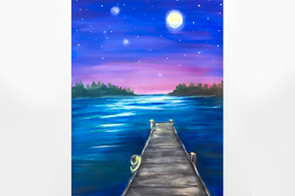 Paint Nite: Moon Lake Nights