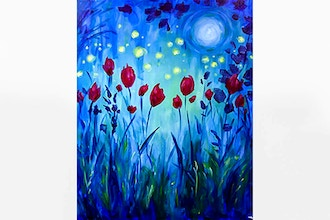 Paint Nite: Moonlight Garden