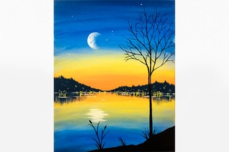 Paint Nite: Moonrise Evening