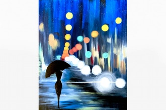 Paint Nite: Night Walk in the City