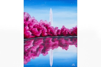 Paint Nite: Peaceful DC Sky