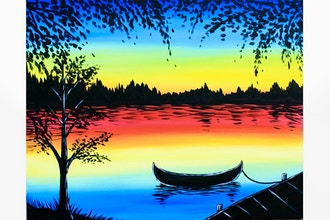 Paint Nite: Peaceful Lake