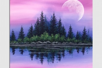 Paint Nite: Peaceful Mornings