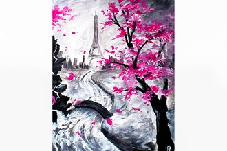 Paint Nite: Pink In Paris